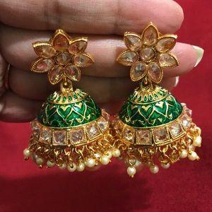 Indian Pakistani jewelry - earrings